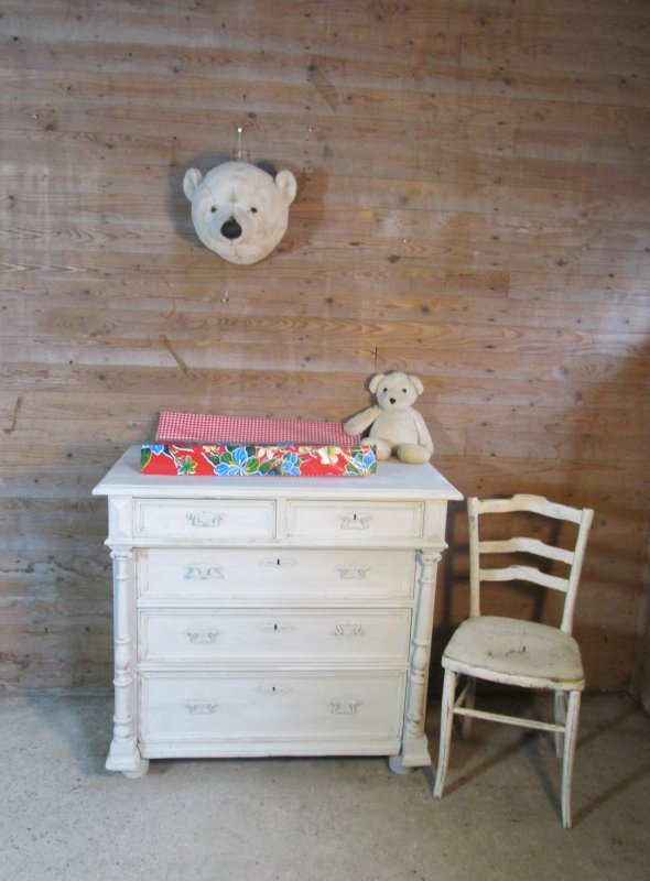 brocante ladekast commode
