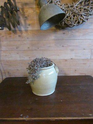 Oude Franse grespot 22.5 cm breed