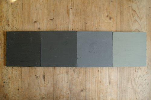 Van zwart naar grijs 1 liter