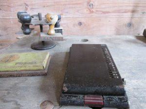 Oude adresklapper, compleet