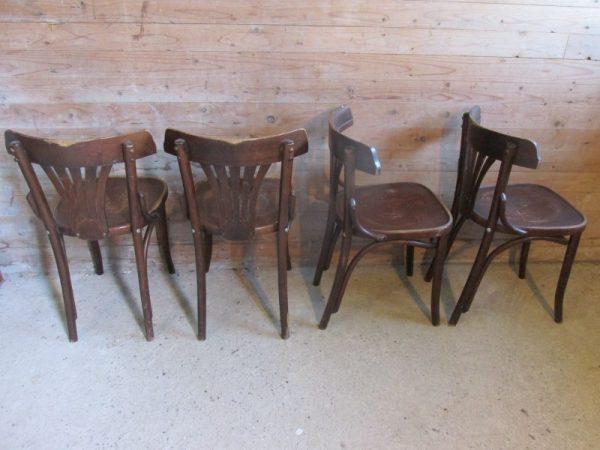 Setje van 4 cafe stoelen