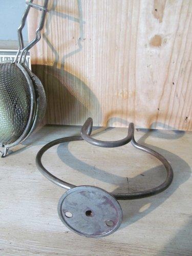 Metalen zeepbak houder