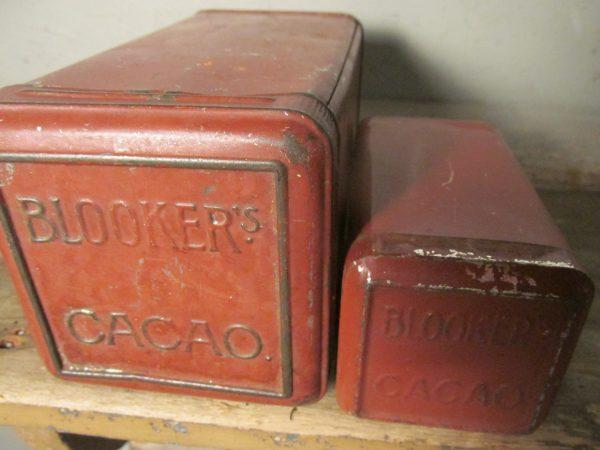 2 oude blikjes, Blookers Daalders cacao