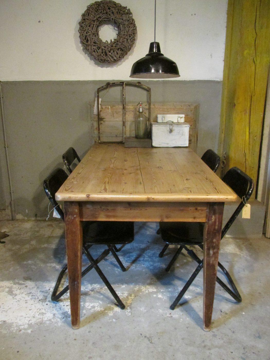 Oud Grenen Tafelblad.Oude Grenen Tafel Als Eettafel Of Werktafel