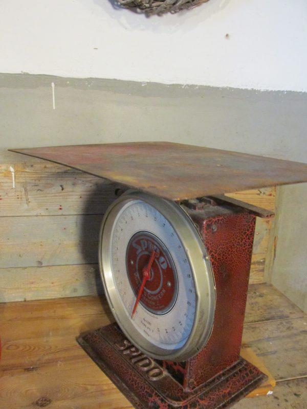 Oude weegschaal van Spido type 1287