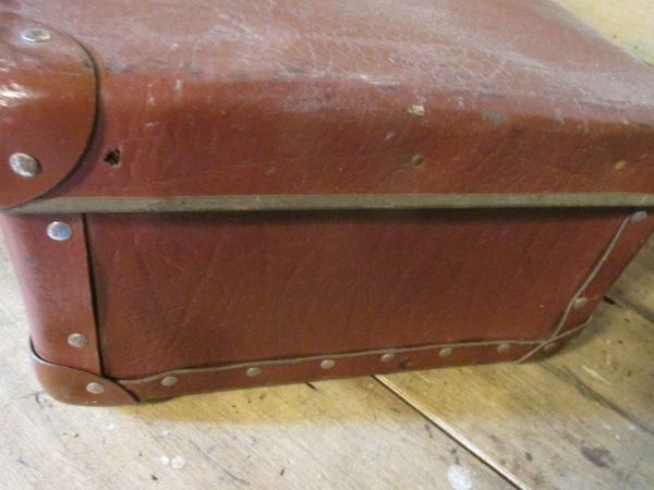 Oude bruine koffer 51x 31 cm