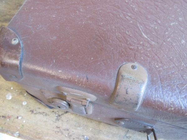 Oude koffer, bruin 55.5 x 34 cm