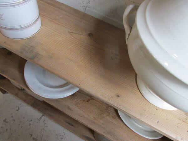 Oude houten boeren rek van grenen