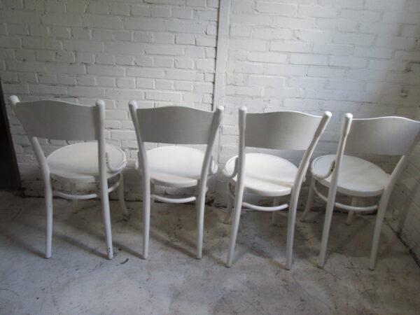 Originele Thonet stoel model 57, 4 stuks op voorraad