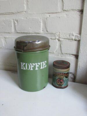 Emaille koffiebus van BK in Reseda