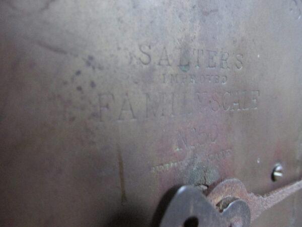 Oude Salter weegschaal