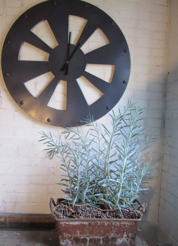 IJzeren bak voor je planten of tijdschriften