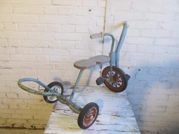 Vintage fietsje voor decoratie
