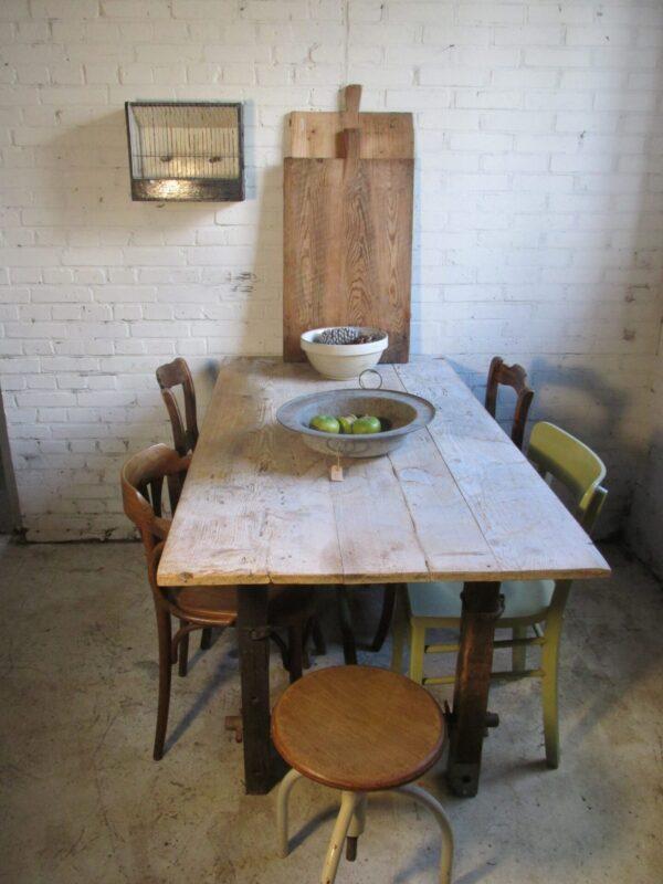 Werktafel of eettafel, een uniek exemplaar