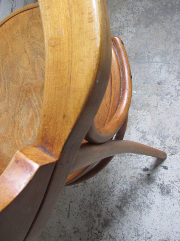 Houten caféstoel Thonet 233, originele
