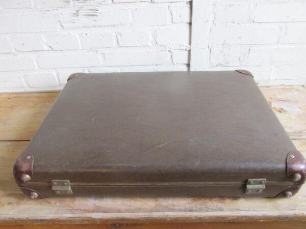 Vintage smalle koffer 55.5 cm x 41.5 cm