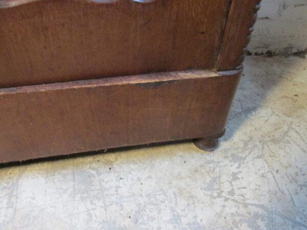 Antieke Biedermeier kast van mahonie
