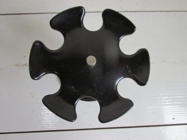 Vintage ronde stempelmolen