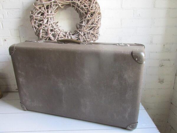 Vintage grote bruine koffer 74 x 44 cm