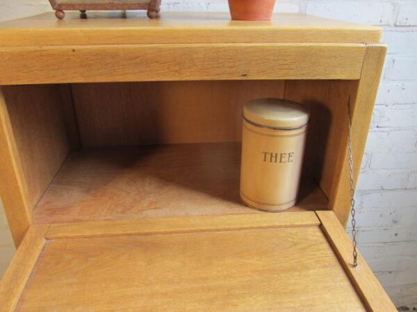 Vintage eiken kastje jaren 30