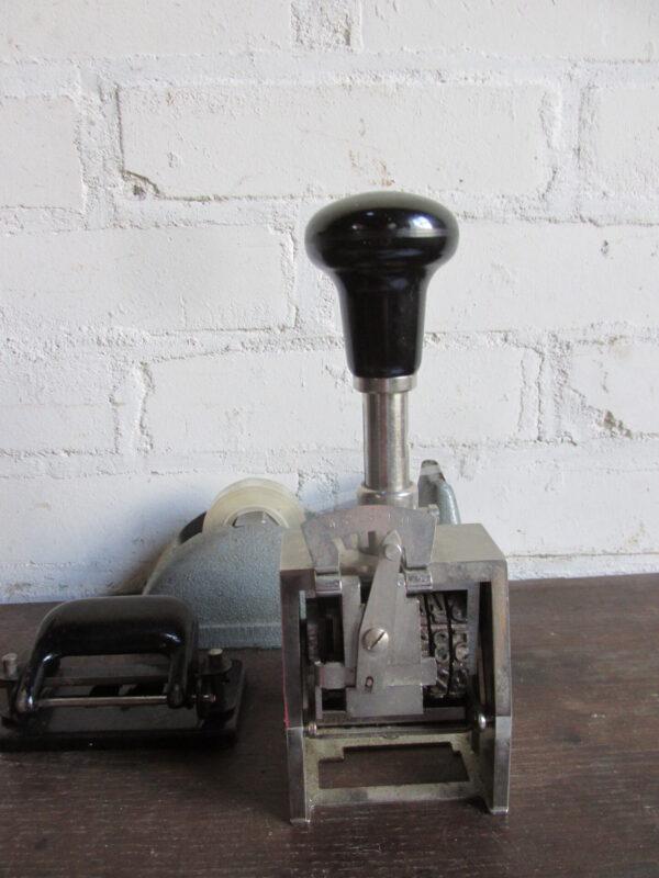 Vintage grote stempel