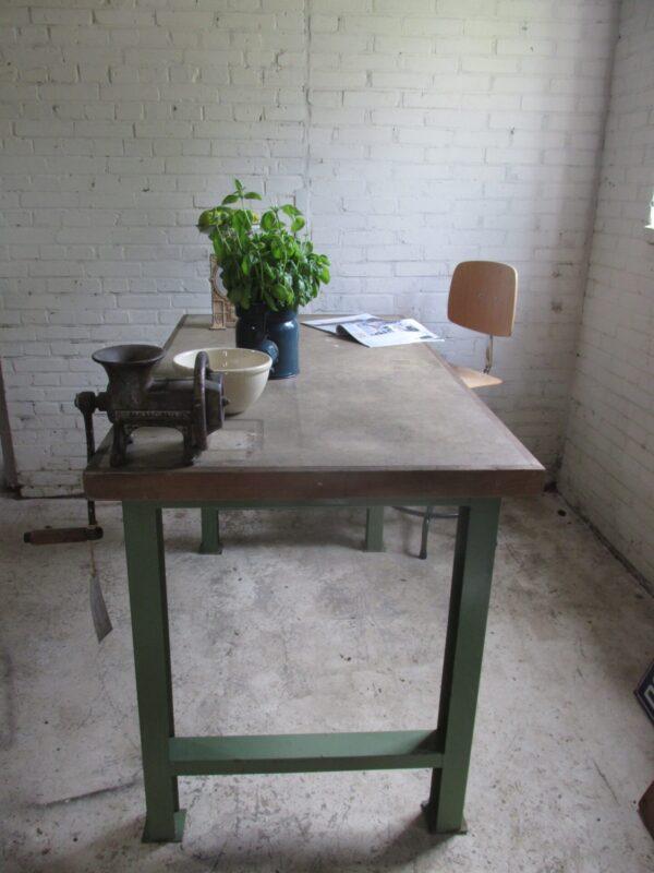 Werkbank of als tafel, keukeneiland, bureau