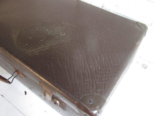 Oude bruine koffer 54.5 x 35 cm