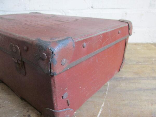 Oude kleine koffer 36 cm x 23.5 cm