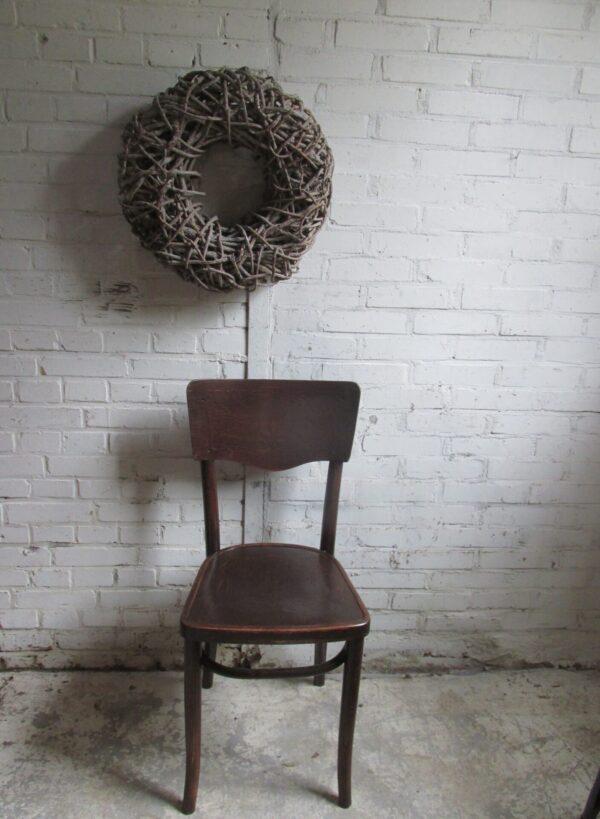 Antieke stoel Art Nouveau, Thonet?