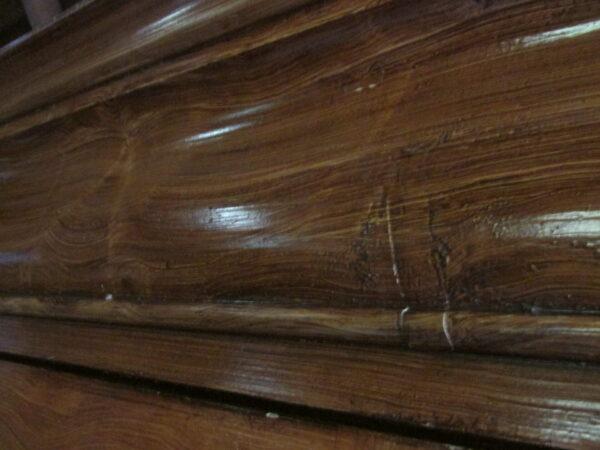 Antieke Biedermeier kast, demontabel en gehout