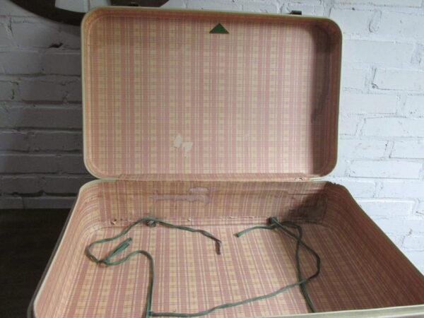 Vintage koffer, beige 59 cm x 38 cm